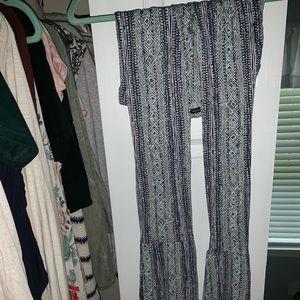 70s style flowy pants
